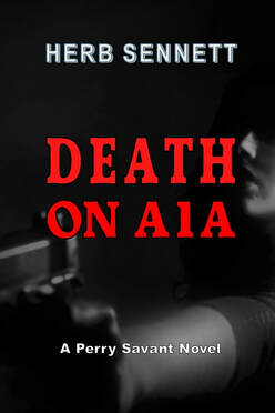 Picture of book cover showing a darkened woman holding a pistol ready to shoot